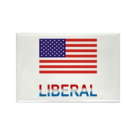 Liberal Rectangle Magnet