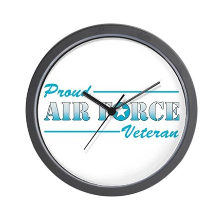 Proud Veteran Wall Clock