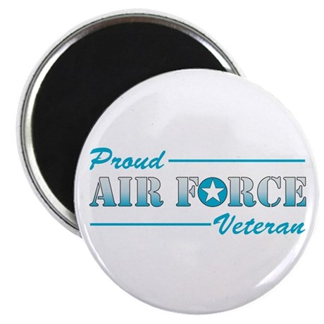 "Proud Veteran 2.25"" Magnet (10 pack)"