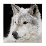 Eclipse Wolf Tile Coaster