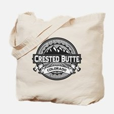 Crested Butte Grey Tote Bag
