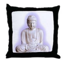 Cute Buddhism symbol Throw Pillow