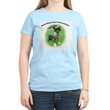 real.dogs.dont.need.hair T-Shirt