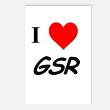 I Heart GSR Postcards (Package of 8)