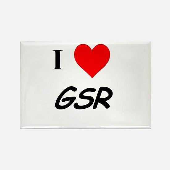 I Heart GSR Rectangle Magnet