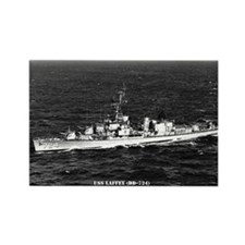 USS LAFFEY Rectangle Magnet