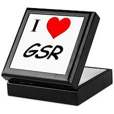 I Heart GSR Keepsake Box