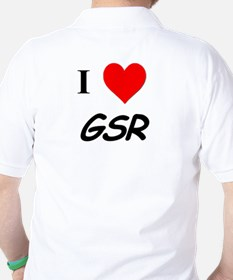 I Heart GSR Polo Shirt