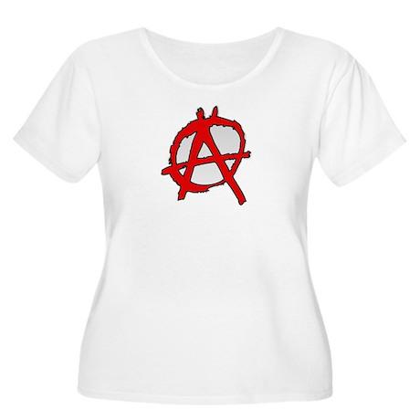 Anarchy Women's Plus Size Scoop Neck T-Shirt