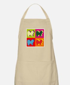 Chow Chow Silhouette Pop Art Apron