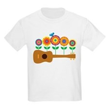 Ukulele Flowers T-Shirt