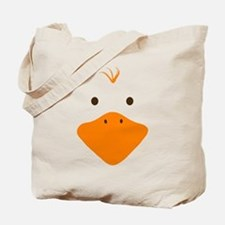 Cute Little Ducky's Face Tote Bag