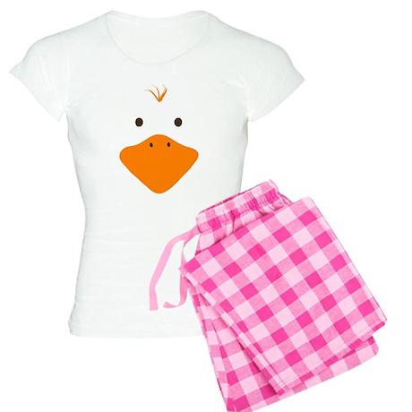 Cute Little Ducky's Face Women's Light Pajamas