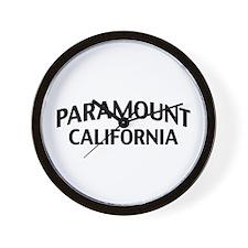 Paramount California Wall Clock