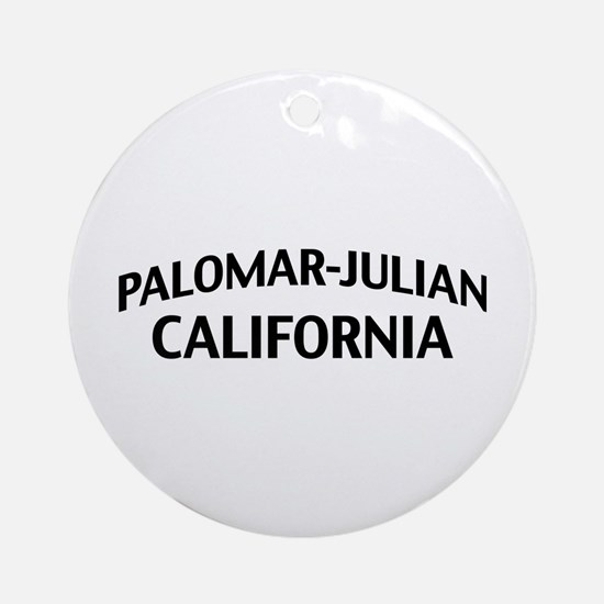 Palomar-Julian California Ornament (Round)