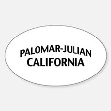 Palomar-Julian California Decal