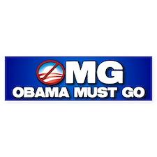 OMG Car Sticker