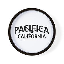 Pacifica California Wall Clock