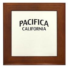 Pacifica California Framed Tile