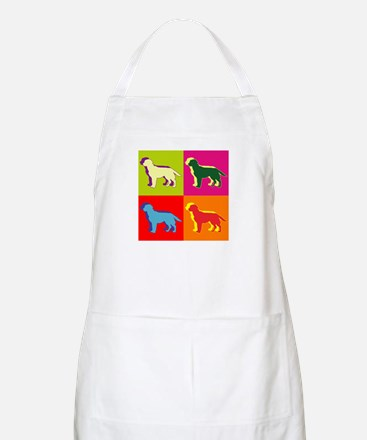 Labrador Retriever Silhouette Pop Art Apron