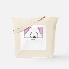 Anime Poodle Tote Bag