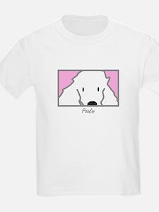 Anime Poodle Kids T-Shirt