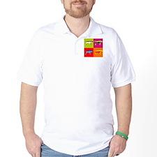 Pointer Silhouette Pop Art T-Shirt