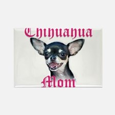 Chihuahua Mom Rectangle Magnet