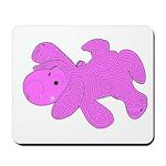 Pink Puppy maze Mousepad