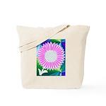 Flower Maze Tote Bag