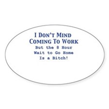 Cute Humorous nursing Decal