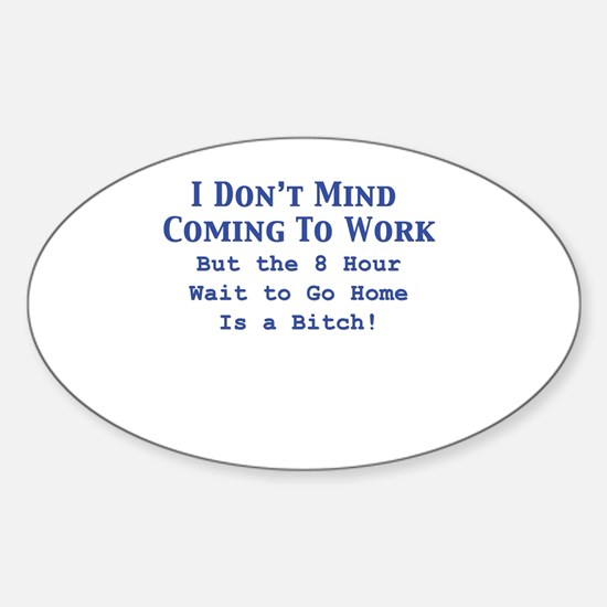 Cute Secretary Sticker (Oval)