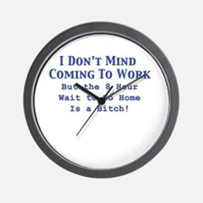 Cute Accounting funny Wall Clock