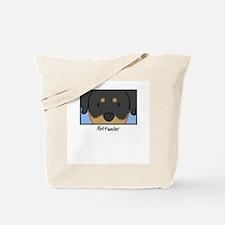 Anime Rottweiler Tote Bag