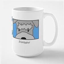 Anime Schnauzer Large Mug
