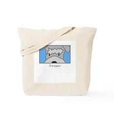 Anime Schnauzer Tote Bag
