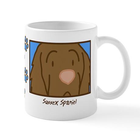Anime Sussex Spaniel Mug