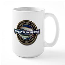 Large Kiss My Muskellunge Mug