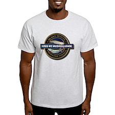 Light Kiss My Muskellunge T-Shirt