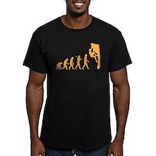 rock climbing 5 b T-Shirt