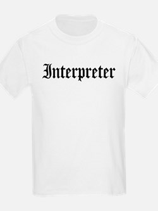 Interpreter Kids T-Shirt
