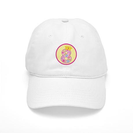 8th Birthday Princess Crown Cap