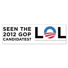 GOP 2012 LOL Bumper Sticker