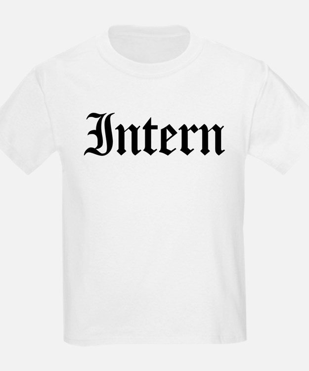 Intern Kids T-Shirt
