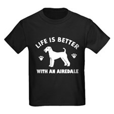 Airedale Dog Breed Design T