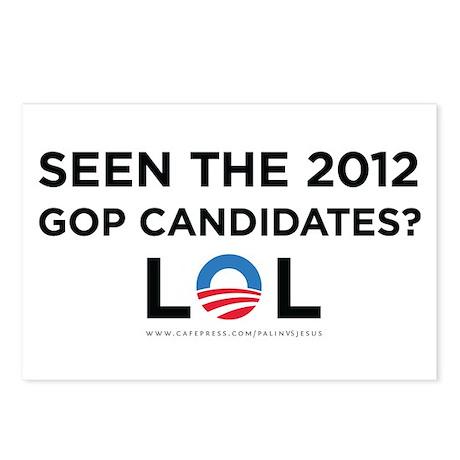GOP 2012 LOL Postcards (Package of 8)