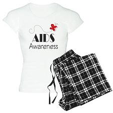 Butterfly AIDS Awareness Pajamas