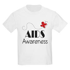 Butterfly AIDS Awareness T-Shirt
