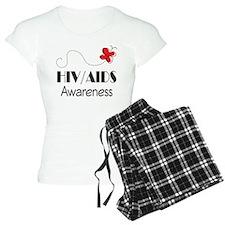 HIV/AIDS Awareness Butterfly Pajamas