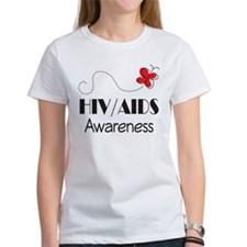 HIV/AIDS Awareness Butterfly Tee